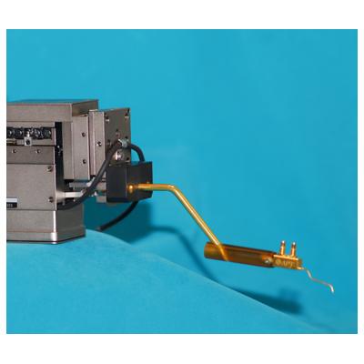 74CJ Coax probe mounted onto Karl Suss PH-150 (78CJ-SMT1-I)
